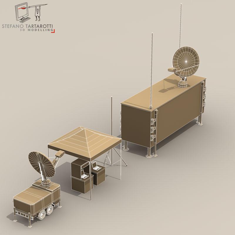 uav ground control stations 3d model 3ds fbx c4d obj 140186