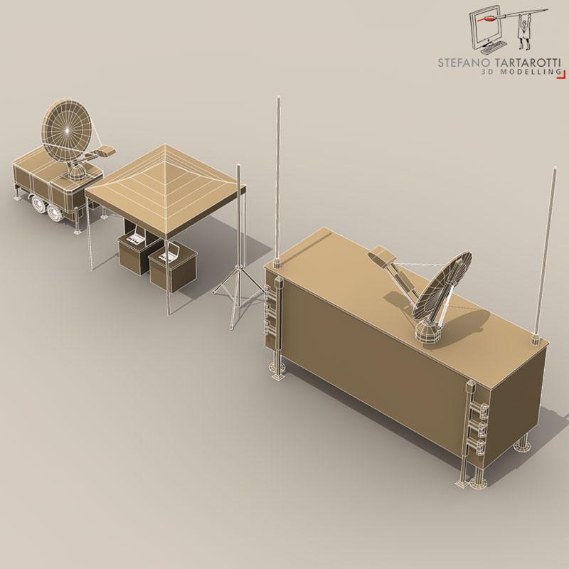 uav ground control stations 3d model 3ds fbx c4d obj 140187