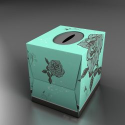 Teal Tissue box with roses ( 512.43KB jpg by mikebibby )