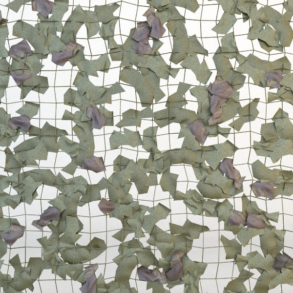 camouflage net 3d model 3ds max fbx obj 114853