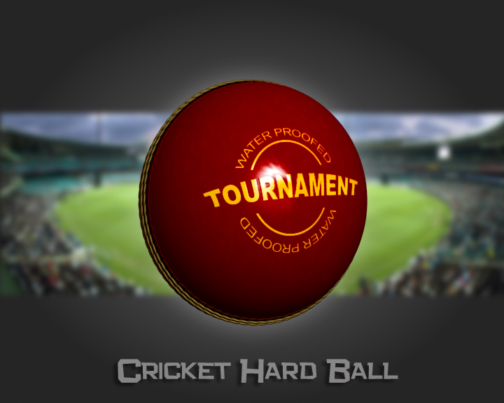 cricket hard ball 3d model 3ds max obj 115556