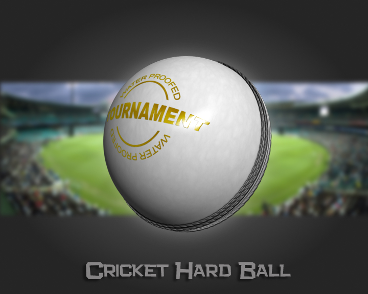 cricket hard ball 3d model 3ds max obj 115558