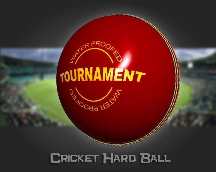 cricket hard ball 3d model 3ds max obj 115562