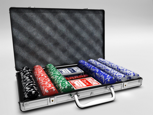 poker case 3d model 3ds max c4d lwo ma mb obj 120362