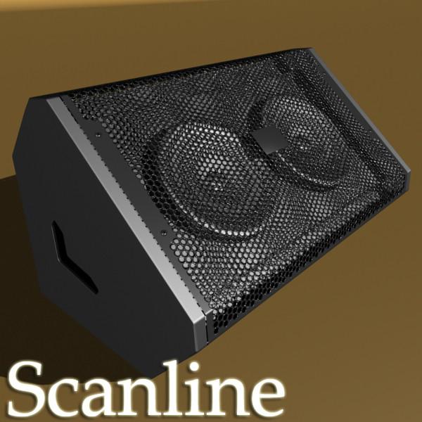 amplificador d'escenari alt detall 3d model 3ds max fbx obj 131048