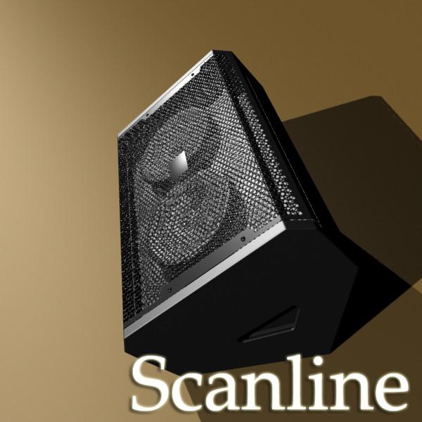 amplificador d'escenari alt detall 3d model 3ds max fbx obj 131049