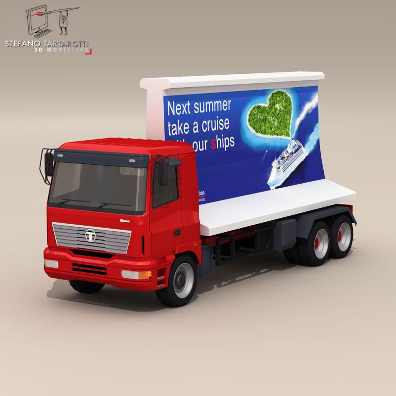 ad truck 3d model 3ds dxf fbx c4d dae obj 102819