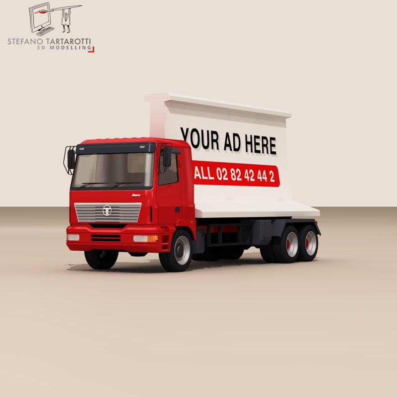 ad truck 3d model 3ds dxf fbx c4d dae obj 102820
