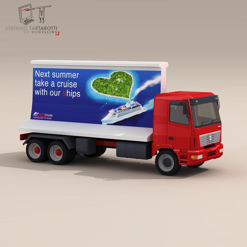 ad truck 3d model 3ds dxf fbx c4d dae obj 102821