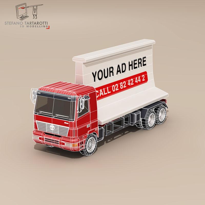 ad truck 3d model 3ds dxf fbx c4d dae obj 102823