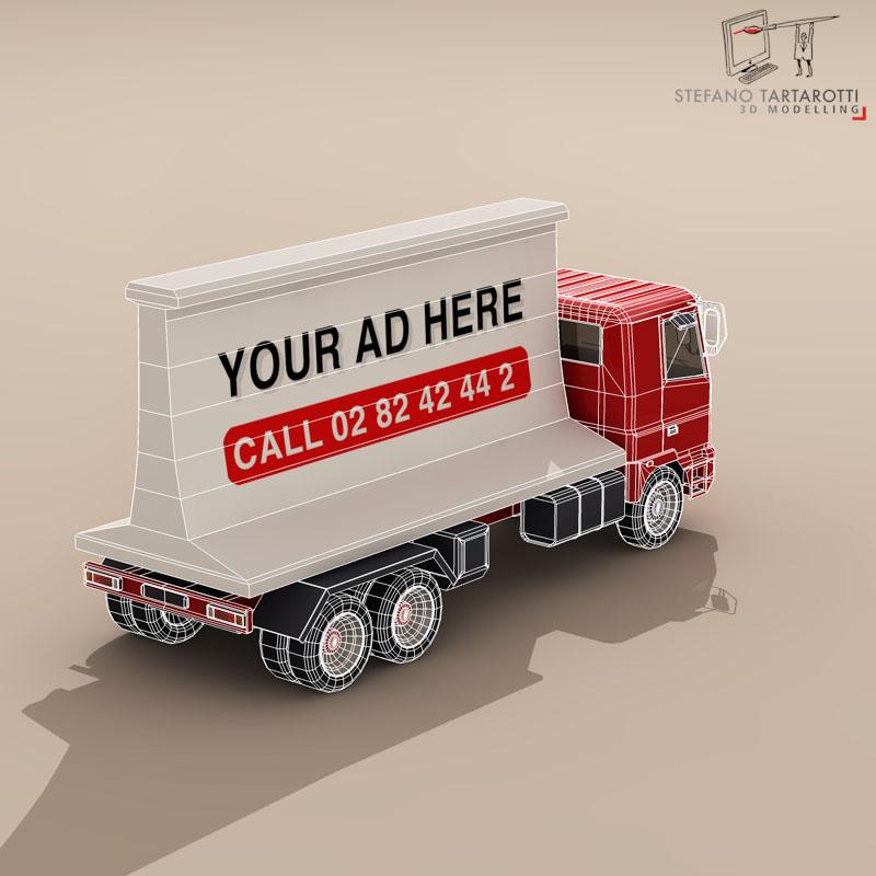 ad truck 3d model 3ds dxf fbx c4d dae obj 102824