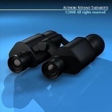 binocular 3d model 3ds dxf c4d obj 89163