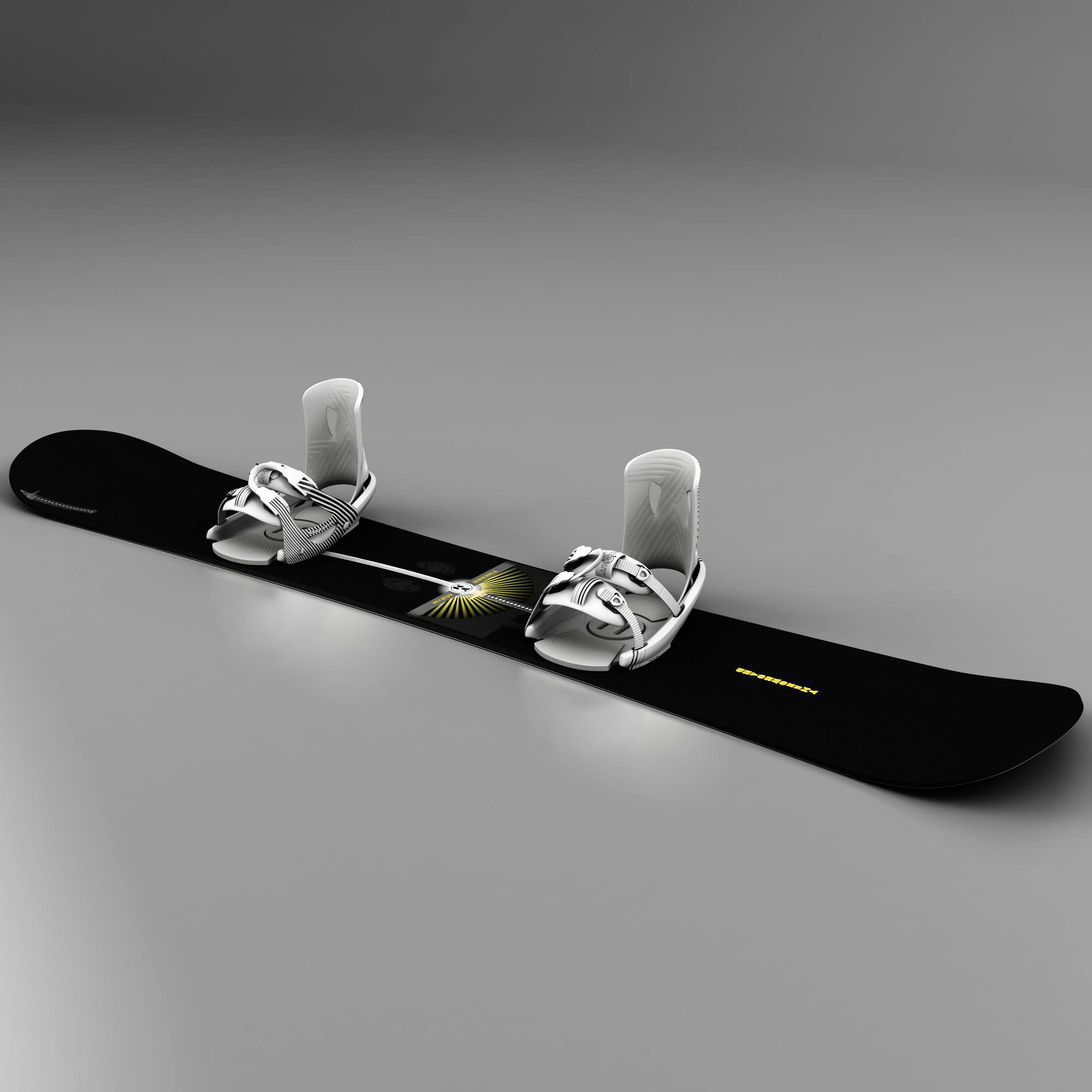 board-bindings 3d model 3ds max fbx ma mb obj 157620