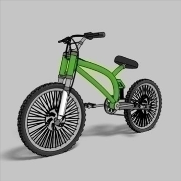 mountain bike toon render 3d model max 105952