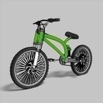 dağ velosiped toon 3d model max 105952 göstərmək