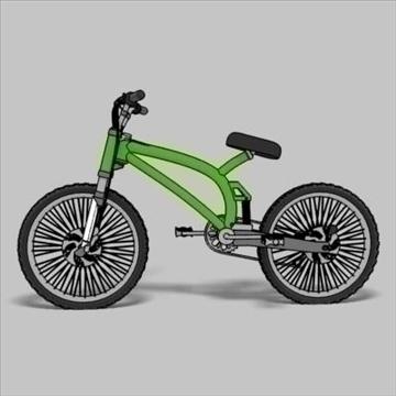 mountain bike toon 3d загвар max 105953-ийг үзүүлнэ