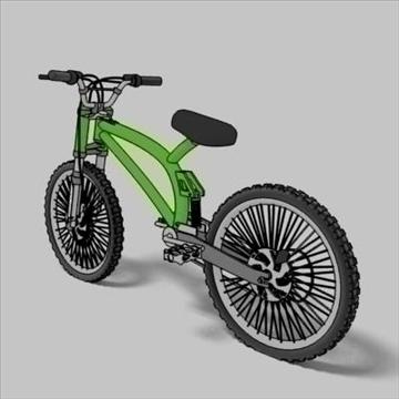 mountain bike toon 3d загвар max 105954-ийг үзүүлнэ