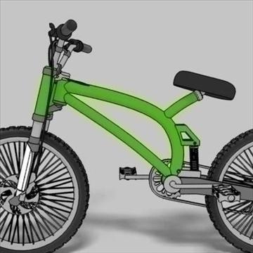 mountain bike toon 3d загвар max 105955-ийг үзүүлнэ
