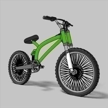 mountain bike toon 3d загвар max 105956-ийг үзүүлнэ