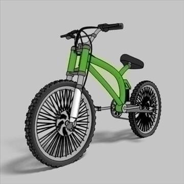 mountain bike toon 3d загвар max 105957-ийг үзүүлнэ
