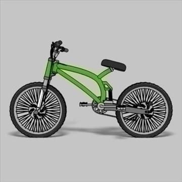 mountain bike toon 3d загвар max 105958-ийг үзүүлнэ