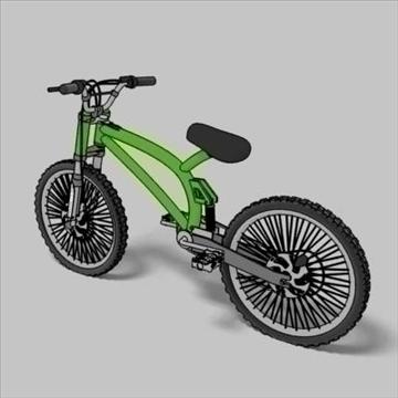 mountain bike toon 3d загвар max 105959-ийг үзүүлнэ