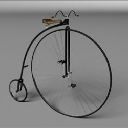 Penny Farthing 1886 ( 41.88KB jpg by gonzo_3d )