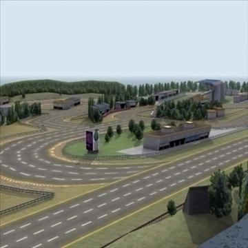 racetrack_3dgame 3d modeli 3ds max fbx lwo ma mb hrc xsi doku obj 99908