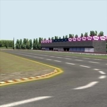 racetrack_3dgame 3d modeli 3ds max fbx lwo ma mb hrc xsi doku obj 99911