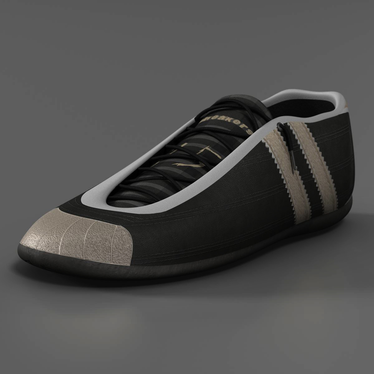 sneakers 3d model 3ds max fbx c4d ma mb obj 160383