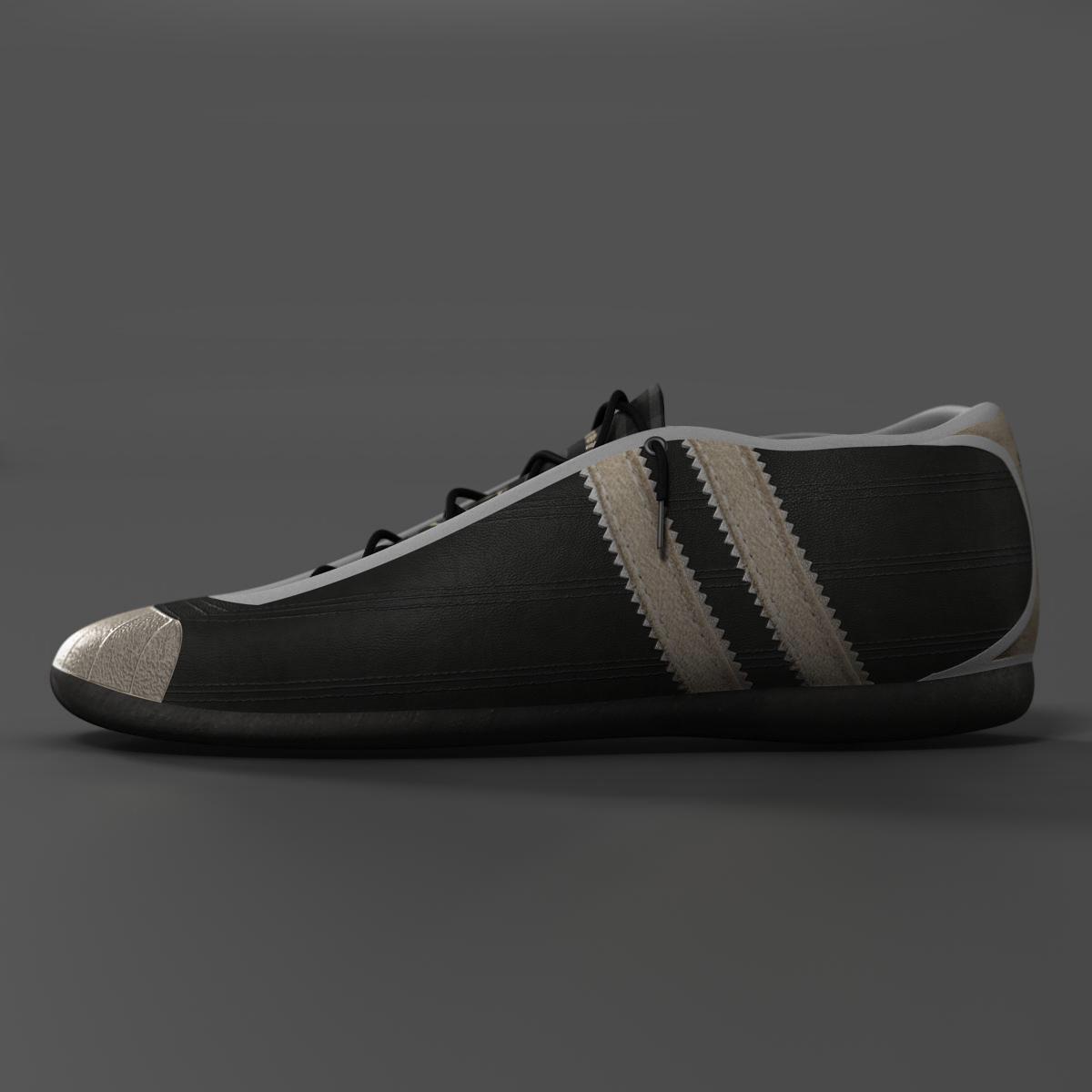sneakers 3d model 3ds max fbx c4d ma mb obj 160384