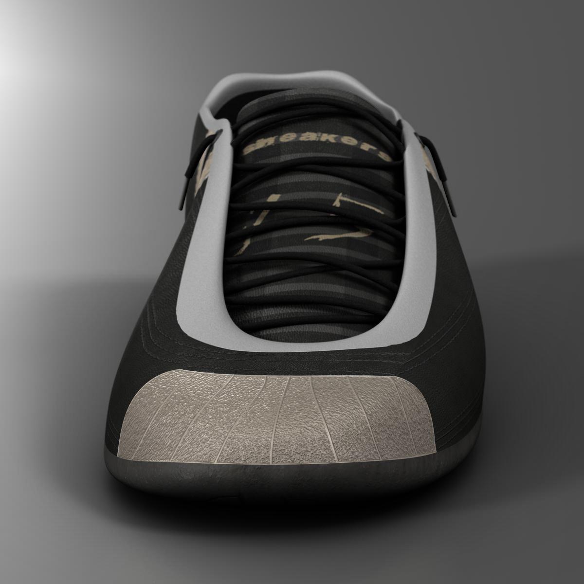 sneakers 3d model 3ds max fbx c4d ma mb obj 160385