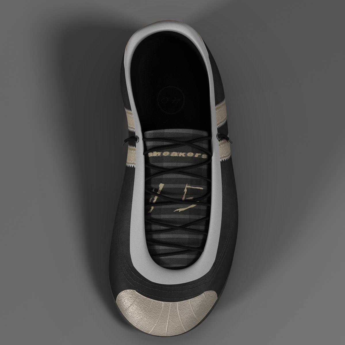 sneakers 3d model 3ds max fbx c4d ma mb obj 160386