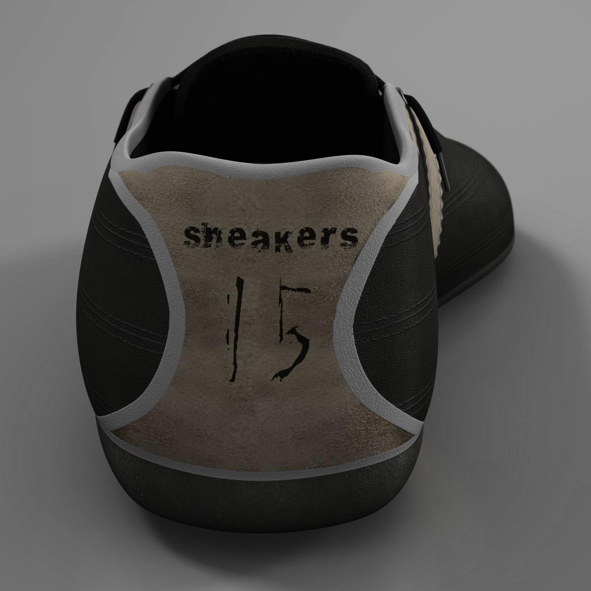 sneakers 3d model 3ds max fbx c4d ma mb obj 160387