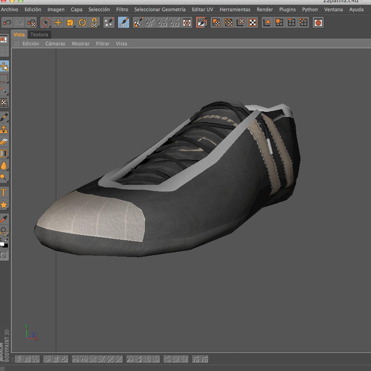 sneakers 3d model 3ds max fbx c4d ma mb obj 160395