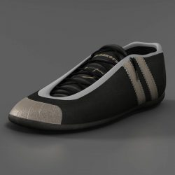 Sneakers 3d model 3ds max fbx c4d ma mb obj