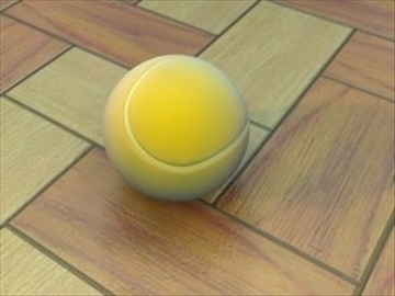 tennisball 3d model 3ds max lwo hrc xsi obj 99675