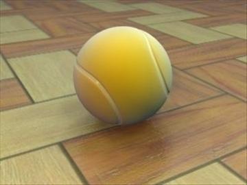 tennisball 3d model 3ds max lwo hrc xsi obj 99676