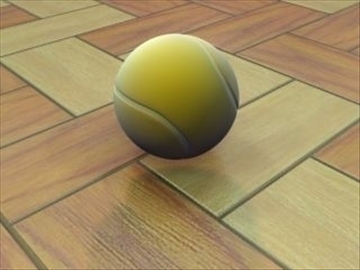 tennisball 3d model 3ds max lwo hrc xsi obj 99677