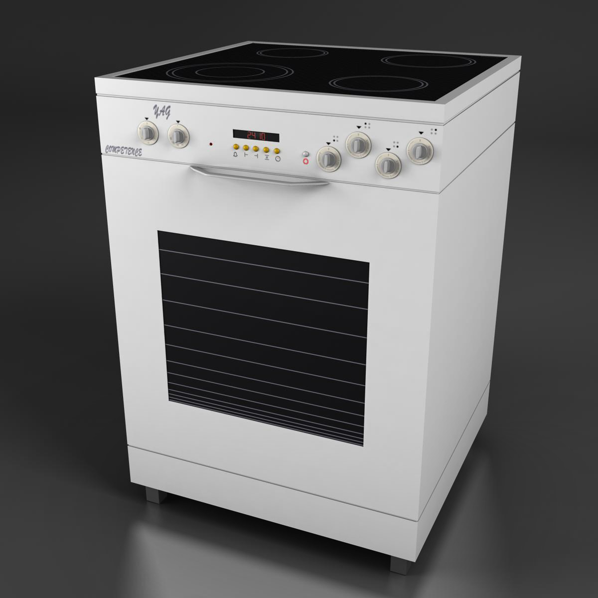 oven 3d model 3ds max fbx ma mb obj 158545