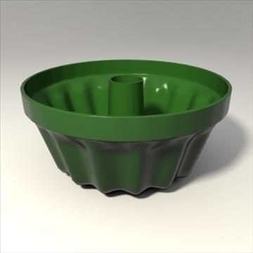 Цэцгийн сав болон таваг 3d загвар 3ds холимог obj 103794