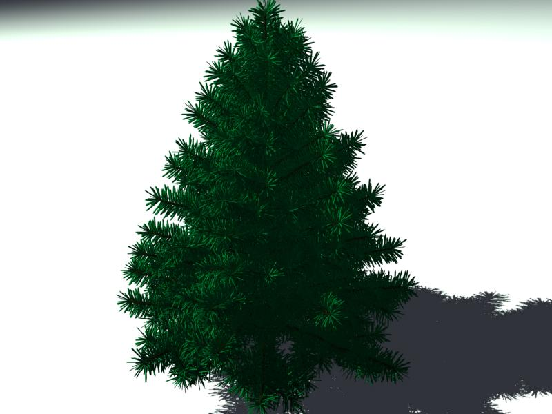 pine tree high-poly 3d model 3ds max obj 141616
