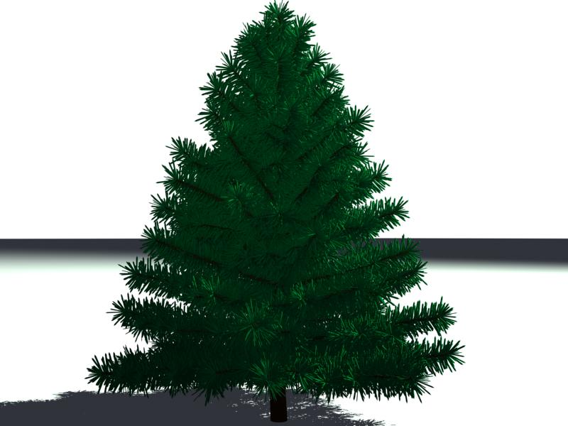 pine tree high-poly 3d model 3ds max obj 141622