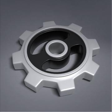 gear 3d model 3ds max fbx obj 105695