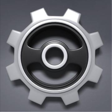 gear 3d model 3ds max fbx obj 105697
