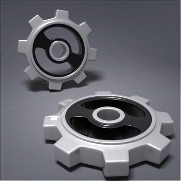 gear 3d model 3ds max fbx obj 105698