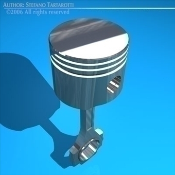 piston 3d modeli 3ds dxf c4d obj 82351