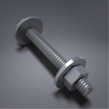 screw02 3d model 3ds max fbx obj 105785