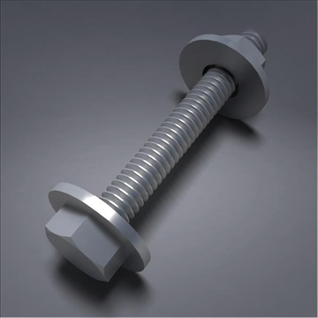screw02 3d model 3ds max fbx obj 105786
