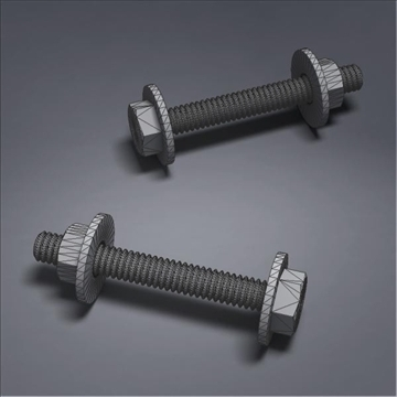 screw02 3d model 3ds max fbx obj 105790